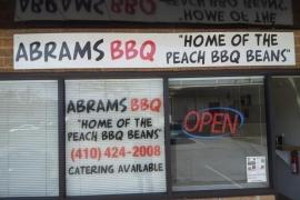 Abrams BBQ & Catering - Glen Burnie MD