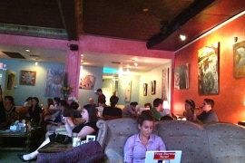Tryst Coffee House Bar & Lounge - Adams Morgan DC