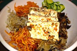 Tofu Bibimbap @ Rice Bar