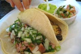 Chicken & Fish Tacos @ Tortilleria Sinaloa